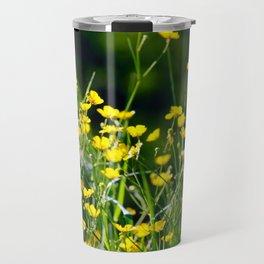 Butter-cup flield Travel Mug