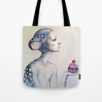 once upon a  time Tote Bags featuring Once upon a time... by Zina Nedelcheva