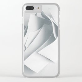 Abstract forms 22 Clear iPhone Case