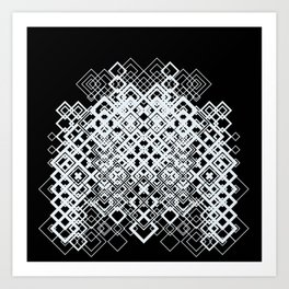 Lattice  Art Print