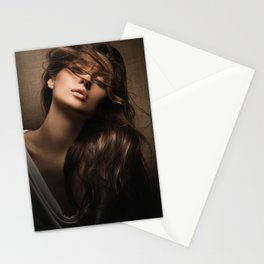 Portrait. Stationery Cards