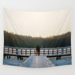SLEEPING WITH GHOSTS Wall Tapestry