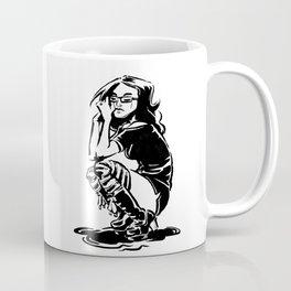 Lady Crow Coffee Mug