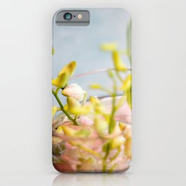 Base and Flowers iPhone Case