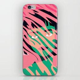 Cat Planet Girl iPhone Skin