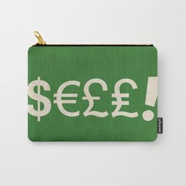 Subliminal Currency Carry-All Pouch