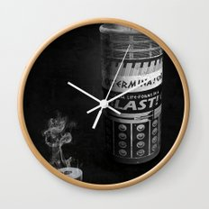 Exterminated Who Wall Clock