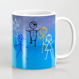 stick figures -35- Coffee Mug