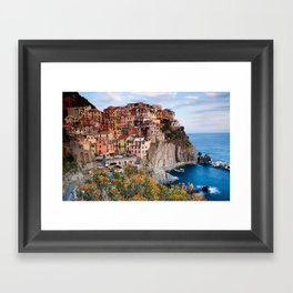 Italy Village Framed Art Print