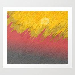 Final in fire Art Print