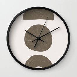 The Good Life Collection - Skeletons Earth Wall Clock