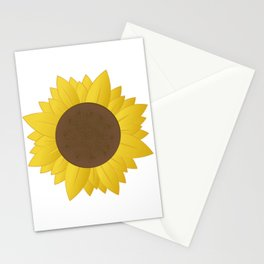 Midwest Sunflower Stationery Cards
