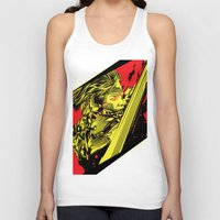 metal gear Tank Tops featuring Metal Gear Rising by HyperTwenty