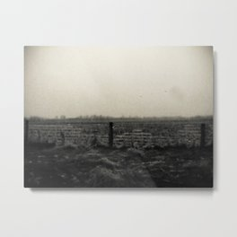 Desolation Fence 2 Metal Print