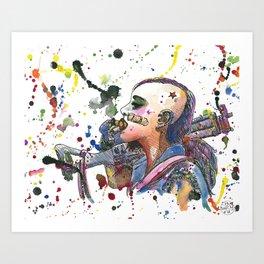 Tank Girl Art Print