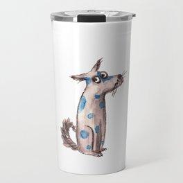 Bertie the dog Travel Mug