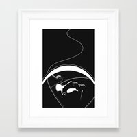 gravity Framed Art Prints featuring Gravity by justjeff