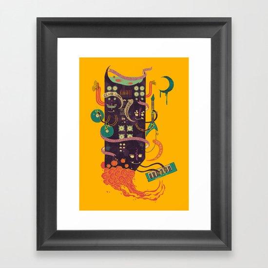 Power Trio Framed Art Print