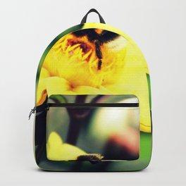 Bumblebee & flowers Backpack