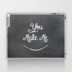 You Make Me Smile - Chalkboard Laptop & iPad Skin