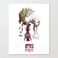 P S - Y Canvas Print