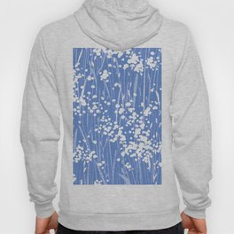 stemmy weeds nautical blue Hoody