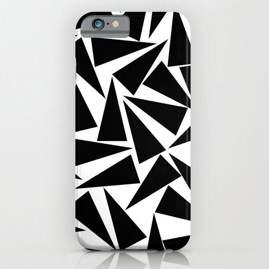 black triangle pattern iPhone & iPod Case