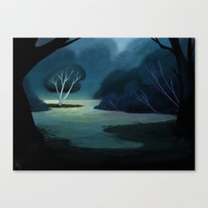 Night Meadow Canvas Print