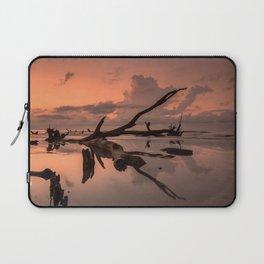 Boneyard Beach Sunrise Laptop Sleeve
