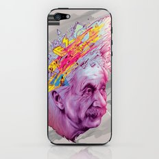 Mr. Einstein iPhone & iPod Skin