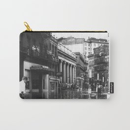 1938 Great Hurricane Westminister Street and the Arcade - Providence, Rhode Island Carry-All Pouch