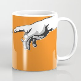 Creation 2.0 Classic Art Reimagined AI Sci Fi Print Coffee Mug