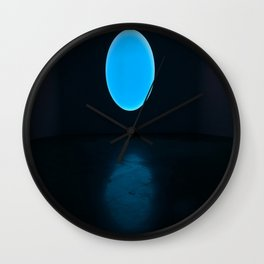 James Turrell Blue Wall Clock