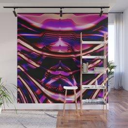 electric Rib Wall Mural