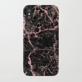 Marble Rose Gold - Someone iPhone Case