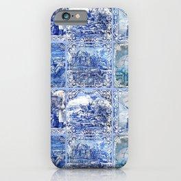 Portuguese Blue Tile art iPhone Case