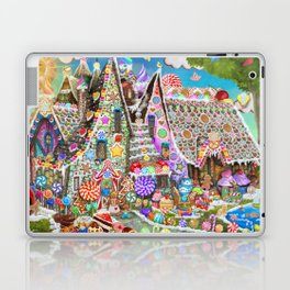 The Gingerbread Mansion Laptop & iPad Skin