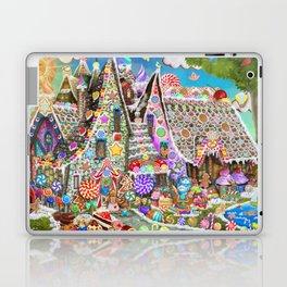 The Gingerbread Mansion Laptop & iPad Skin