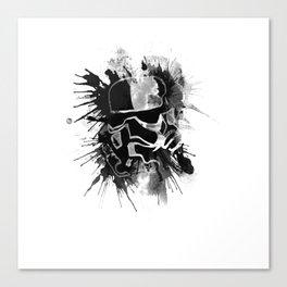 Storm Trooper (white) - Star Wars Canvas Print