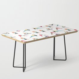 Yoga Pattern Coffee Table
