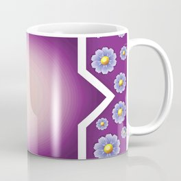 FLOWERS WALLPAPER Pop Art Coffee Mug