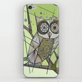 Sleeping's For The Birds! iPhone Skin