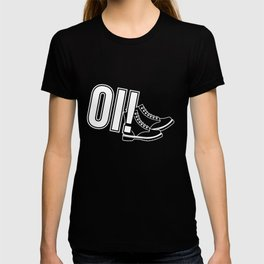 Oi Punk design, Gift for Skinheads, Ska and Reggae Music Fans Skins, Boots, Punks, Mods and Rockers T-shirt