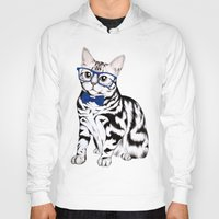 kitty Hoodies featuring Kitty by 13 Styx