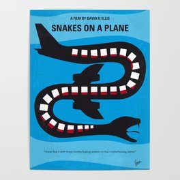No501 My Snakes on a Plane mmp Poster