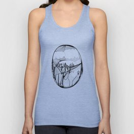 Over the Hills Unisex Tank Top