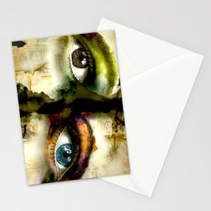 2Eyes2Faces by carographic Stationery Cards