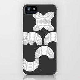 Xmas Typo Black #society6 #decor #buyart iPhone Case