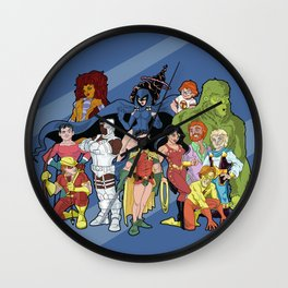 Teen Titans Wall Clock
