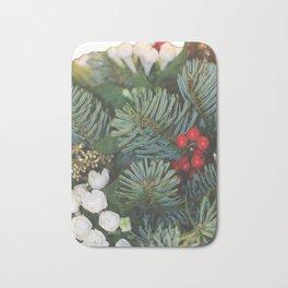 Pine bouquet Bath Mat